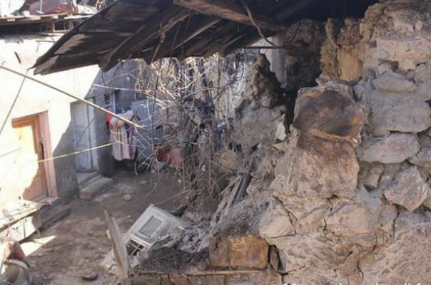Սիսիանի տներից մեկի բաց պատշգամբը փլուզվել է