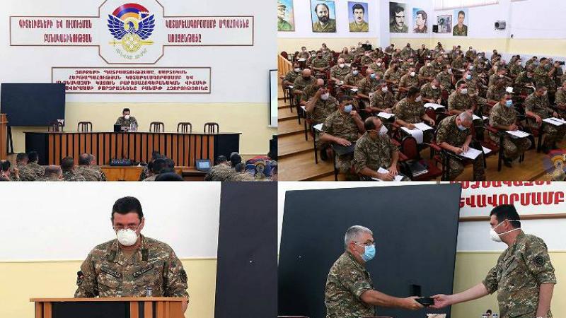 ԱՀ պաշտպանության նախարար Ջալալ Հարությունյանն ամփոփել է անցկացված մարտավարական զորավարժությունների արդյունքները
