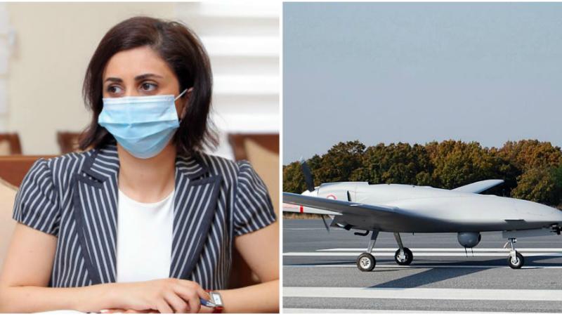 Երևանի օդային տարածքում թուրքական Բայրաքթարի հայտնվելու մասին լուրերը կեղծ են․ ՊՆ խոսնակ