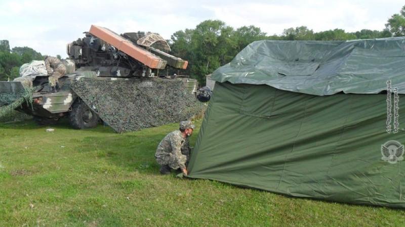 ՀՕՊ զորամասերից մեկի մասնակցությամբ անցկացվել են ճամբարային հավաքներ․ ՊՆ