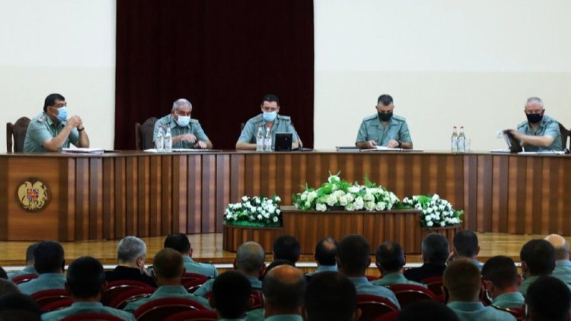 Ջալալ Հարությունյանի ղեկավարությամբ անց է կացվել ՊԲ-ի ռազմական խորհրդի նիստ