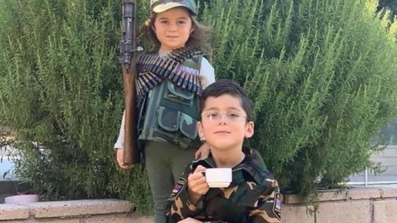 Հարութ ջան, բոլորս սպասում ենք քեզ. Վահրամ Պողոսյանն անդրադարձել է Արցախի նախագահի նման սուրճով ու համազգեստով փոքրիկին (տեսանյութ)