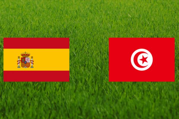 Իսպանիա-Թունիս. մեկնարկային կազմեր, ուղիղ հեռարձակում