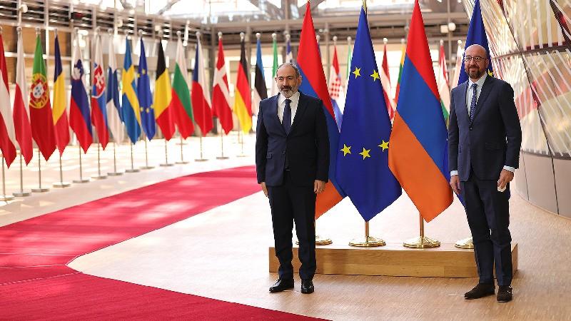 ԵՄ-ն կանգնած է Հայաստանի կողքին՝ աջակցելով խոր բարեփոխումների արդյունավետ իրականացմանը. Շառլ Միշելը՝ Նիկոլ Փաշինյանին