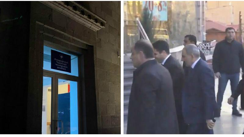 «Քաղաքացիական պայմանագիր» կուսակցության գրասենյակում նիստ է հրավիրվել․ քիչ առաջ գրասենյակ ժամանեց Նիկոլ Փաշինյանը