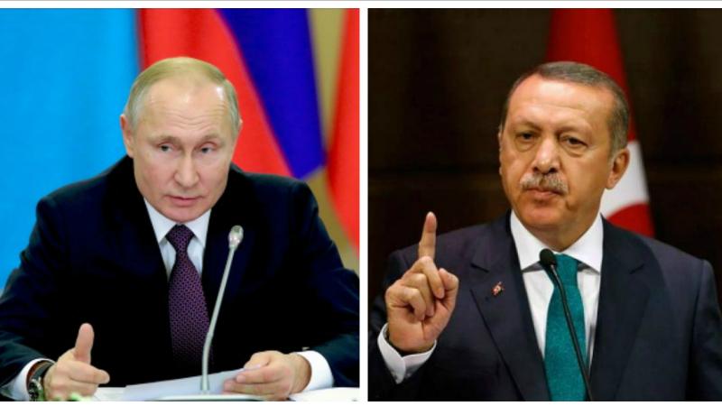 Ռուսաստանի և Թուրքիայի ղեկավարները քննարկել են Իդլիբում կատարվող իրադաձությունները