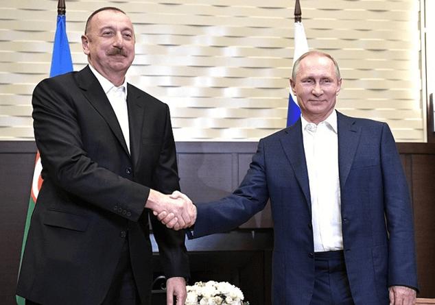 Ադրբեջանի և ՌԴ-ի նախագահները կարծիքներ են փոխանակել երկկողմ հարաբերությունների հեռանկարների շուրջ