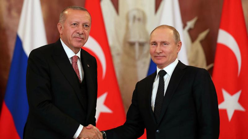 Ռուսաստանի և Թուրքիայի նախագահները քննարկել են ԼՂ հակամարտության կարգավորման հարցը