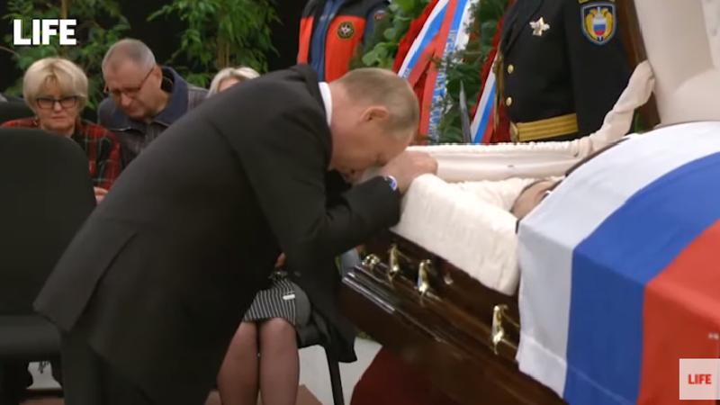 Վլադիմիր Պուտինը հրաժեշտ է տվել զոհված ԱԻ նախարարին (տեսանյութ)