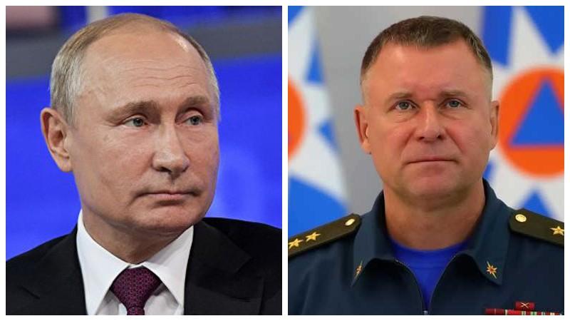 Պուտինը Ռուսաստանի ԱԻ նախարար Եվգենի Զինիչևին  հետմահու հերոսի կոչում է շնորհել