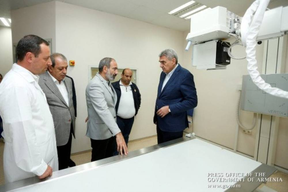 Նիկոլ Փաշինյանն այցելել է Իջևանի և Դիլիջանի արտադրական ընկերություններ և «Տավուշ» բժշկական կենտրոն