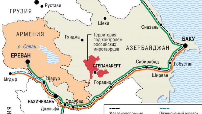 Ինչ են պայմանավորվել Հայաստանն ու Ադրբեջանը․ «Коммерсантъ»-ը քարտեզ է հրապարակել