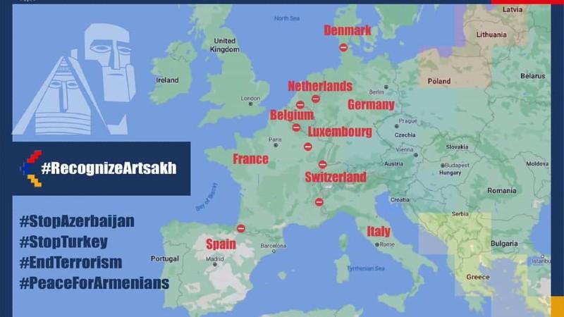Վաղ առավոտից Եվրոպայի հայությունը նախաձեռնել է աննախադեպ բողոքի ակցիա․ Արայիկ Հարությունյան