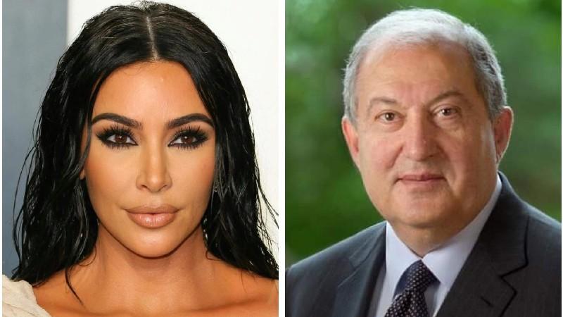 Քիմ Քարդաշյանը պատասխանել է նախագահ Արմեն Սարգսյանի շնորհակալական նամակին