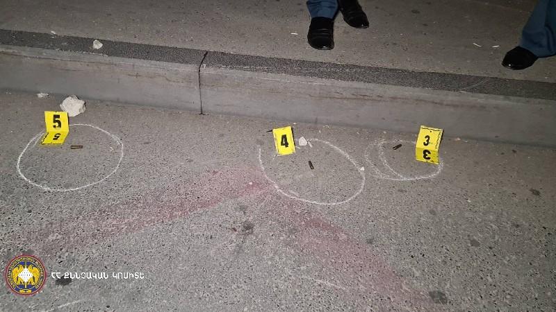 ՔԿ-ն մանրամասներ է ներկայացրել «Հաղթանակ» զբոսայգու մոտ կրակոցներից. կա 1 զոհ, 1 վիրավոր (տեսանյութ)