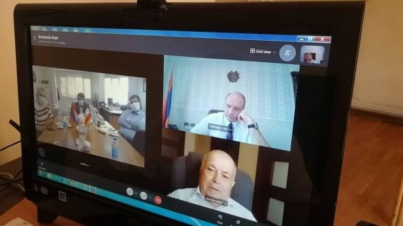 Քննարկվել է Հայաստան-Իրան 3-րդ բարձրավոլտ էլեկտրագծի շինարարության ընթացքը