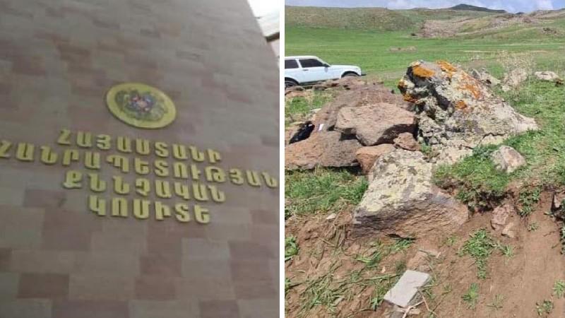 Հայտնաբերվել է հողի շերտով պատված, տեղ-տեղ քայքայված տղամարդու դիակ․ հարուցվել է քրեական գործ