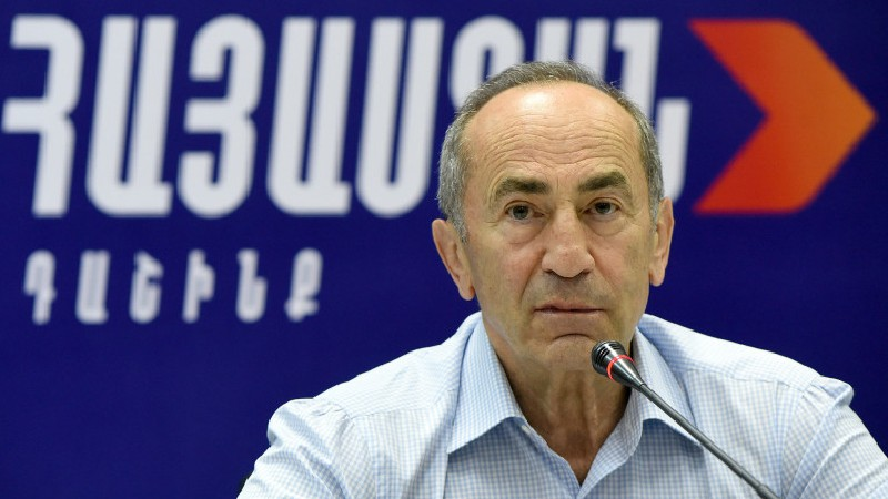 «Հայաստան» դաշինքի առաջնորդ Ռոբերտ Քոչարյանի ասուլիսը (ուղիղ միացում)