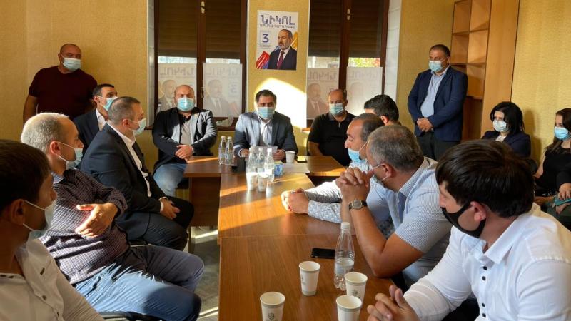 «Քաղաքացիական պայմանագիր» կուսակցությունը Դիլիջանում տարածքային կառույց է հիմնել
