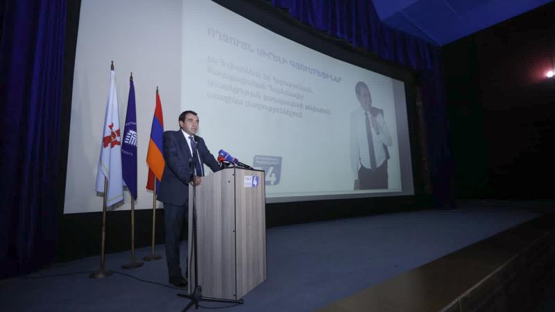 Տեղի է ունեցել «Քաղաքացիական պայմանագիր» կուսակցության Գյումրու ավագանու ընտրությունների նախընտրական ծրագրի ներկայացումը