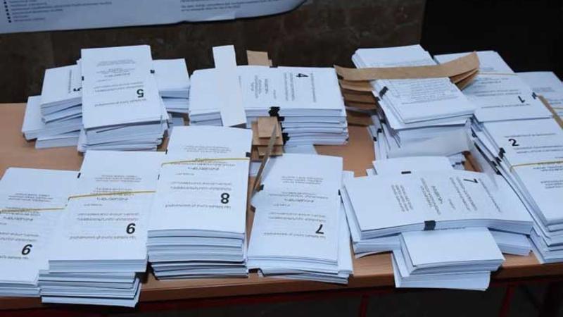 ԿԸՀ-ն ներկայացրել է 2005 ընտրատեղամասի քվեարկության արդյունքները