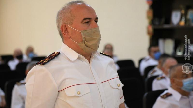 Աշոտ Զաքարյանը նշանակվել է Ռազմական ոստիկանության պետ
