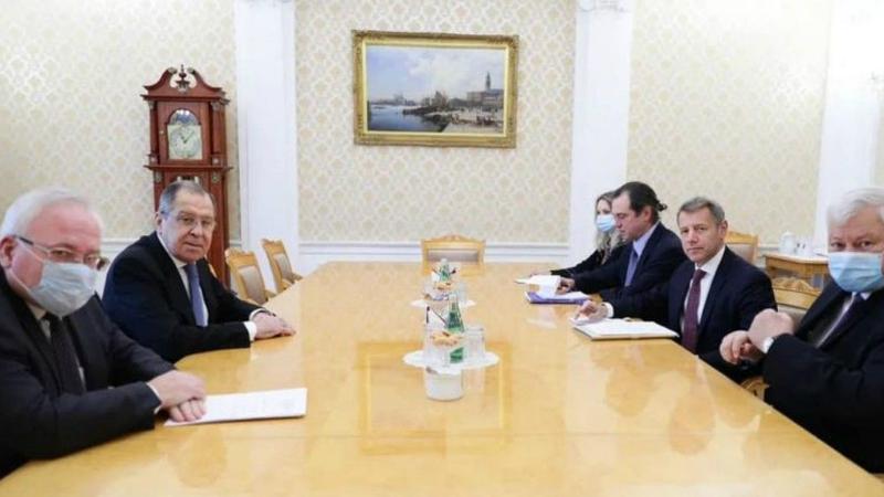 Լավրովը հանդիպել է ԵԱՀԿ ՄԽ համանախագահ Իգոր Պոպովի և ԼՂ հարցով ԵԱՀԿ գործող նախագահի անձնական ներկայացուցչի հետ