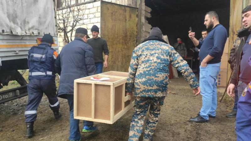 ՌԴ ԱԻՆ-ը 80 տոննա օգնություն է հասցրել ԼՂ