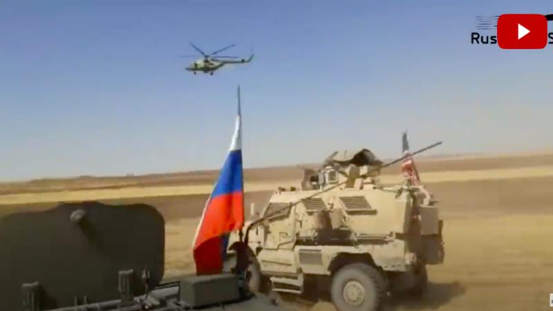 Հրապարակվել է Սիրիայում ռուս և ամերիկացի զինվորականների միջև տեղի ունեցած միջադեպի տեսանյութը