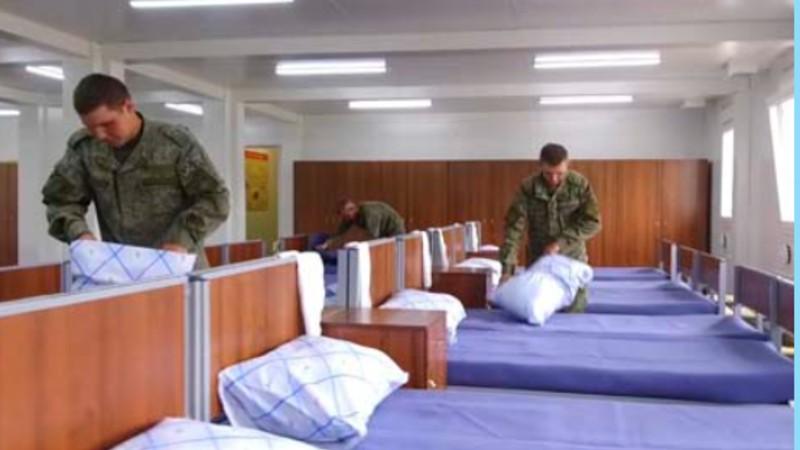 ԼՂ-ում ավարտվել է ՌԴ խաղաղապահների համար նախատեսված 30 բլոկ-մոդուլային քաղաքի շինարարությունը (լուսանկարներ)