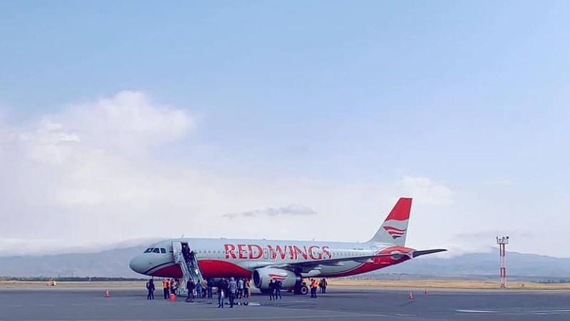Մեկնարկել են Red Wings ավիաընկերության Մոսկվա-Գյումրի-Մոսկվա երթուղով չվերթերը
