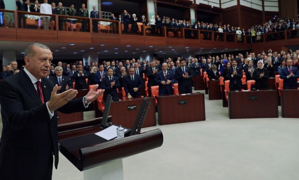 Կայացել է Թուրքիայի՝ ընդլայնված լիազորություններով նախագահի երդմնակալության արարողությունը