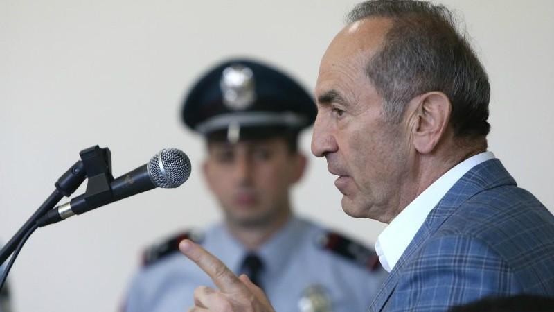 Դատարանը քննում է Քոչարյանի նկատմամբ քրեական հետապնդումը դադարեցնելու վերաբերյալ դիմումը