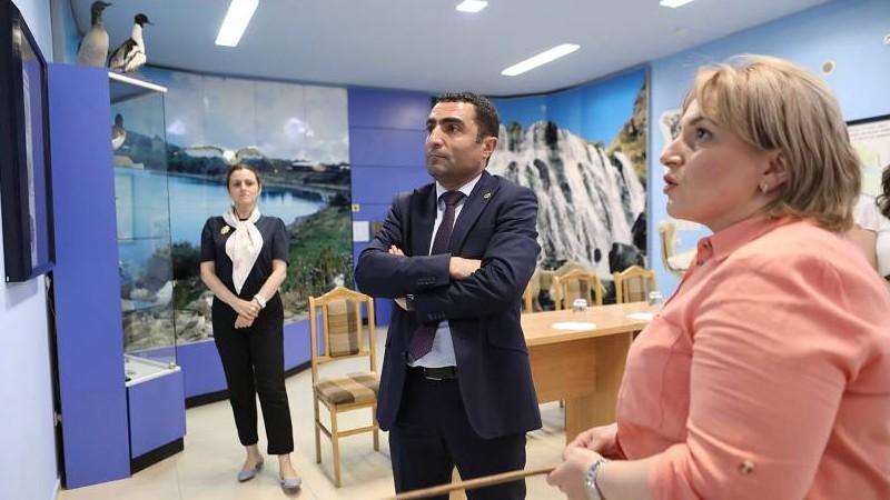 Ռոմանոս Պետրոսյանն աշխատանքային այցով եղել է Հայաստանի բնության պետական թանգարան