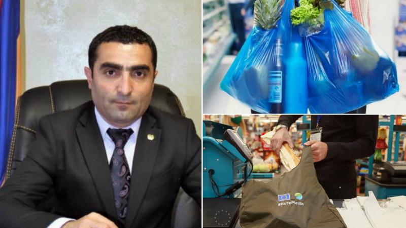 Հիշեցնեմ, որ 2022 թվականից Հայաստանում արգելվելու է միանգամյա օգտագործման պոլիէթիլենային տոպրակների օգտագործումը․ Ռոմանոս Պետրոսյան