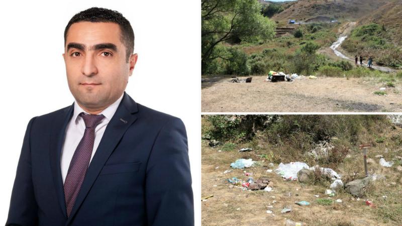 Հարգելի՛ քաղաքացիներ, ձեր լուման ներդրեք Հայաստանի բնապահպանական իրավիճակի բարելավման գործում. Ռոմանոս Պետրոսյան
