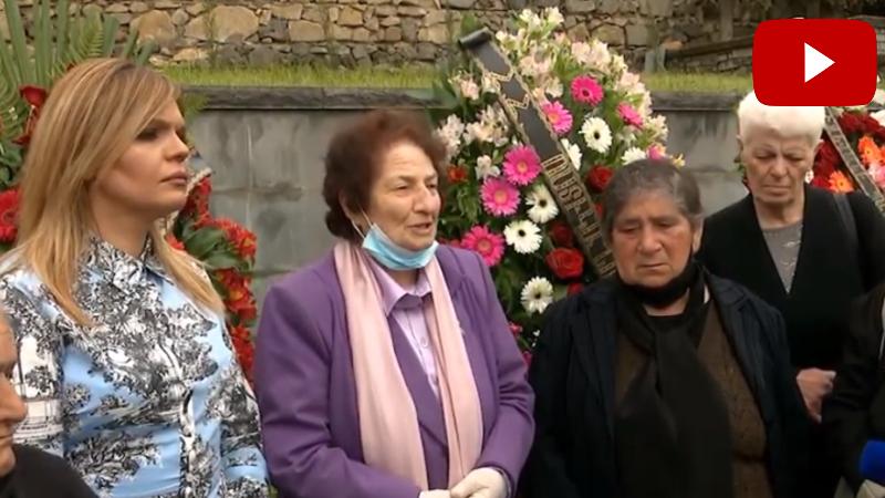 Ռոզա Ծառուկյանը հարգանքի տուրք է մատուցել 30 տարի առաջ Ոսկեպարում զոհված ոստիկանների հիշատակին (տեսանյութ)