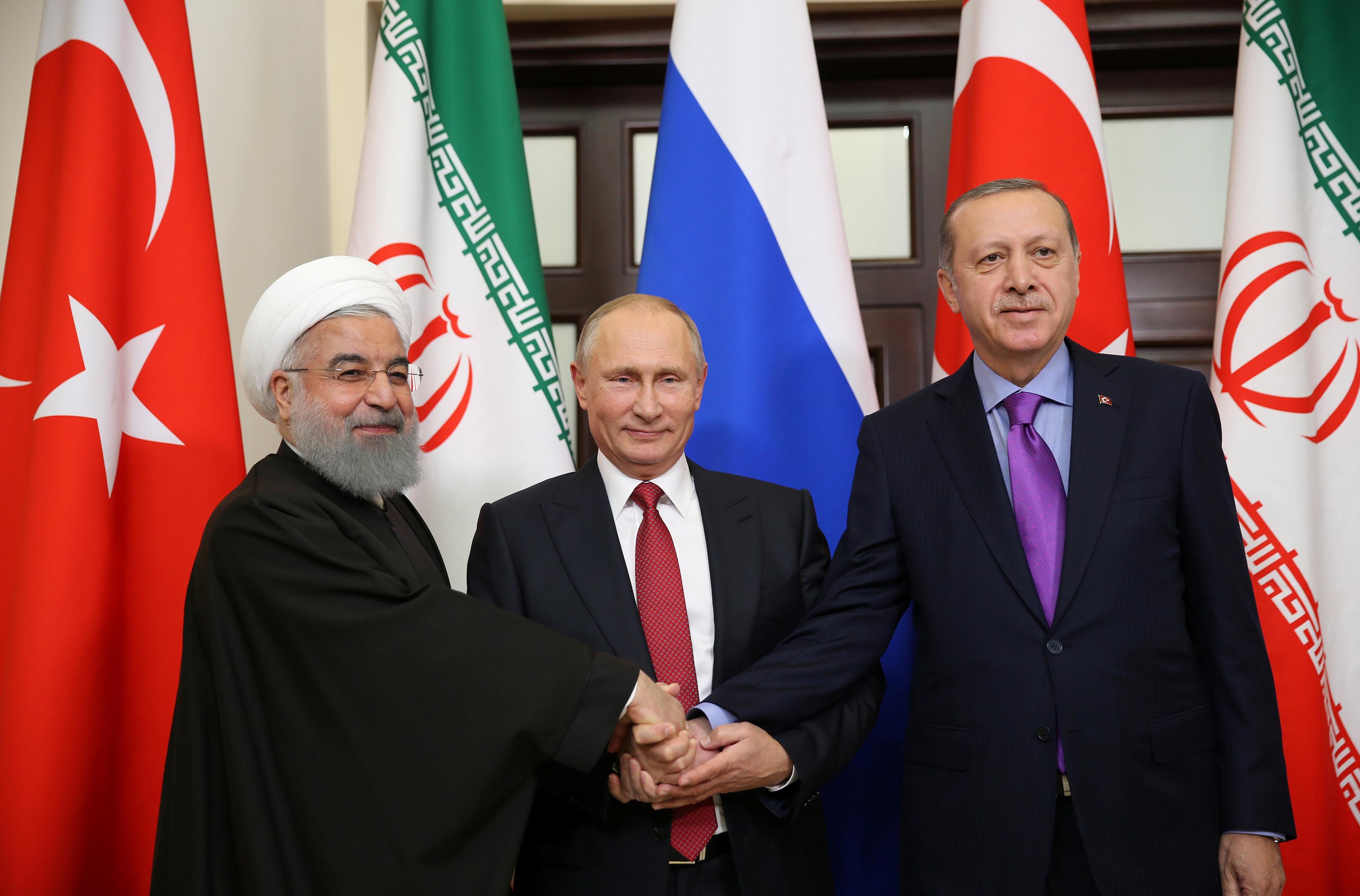 Իրանի, Թուրքիայի և Ռուսաստանի նախագահները կհանդիպեն