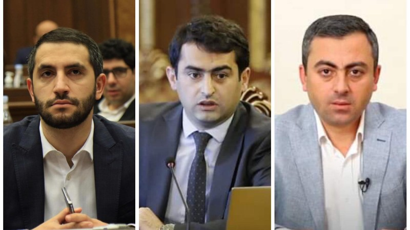 ԱԺ փոխնախագահների պաշտոնում առաջադրվեցին Ռուբեն Ռուբինյանի, Հակոբ Արշակյանի ու Իշխան Սաղաթելյանի թեկնածությունները