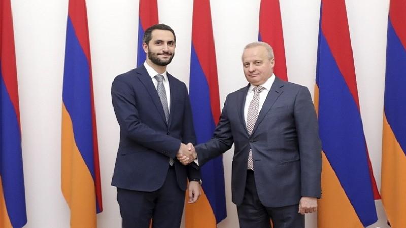 Ռուբեն Ռուբինյանը և Հայաստանում ՌԴ դեսպանը կարևորել են միջխորհրդարանական հարթակներում փոխգործակցության խորացումը
