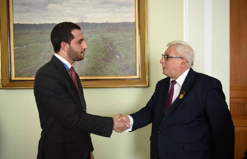 Ռուբինյանը Վարշավայում հանդիպել է Հայաստանի հետ Լեհաստանի խորհրդարանական բարեկամության խմբի ղեկավարի հետ