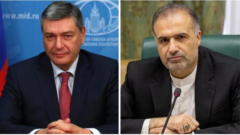ՌԴ ԱԳ փոխնախարարը և Մոսկվայում Իրանի դեսպանը քննարկել են ԼՂ թեման և հայ-ադրբեջանական սահմանի իրավիճակը