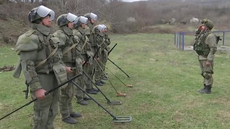 Խաղաղապահները ԼՂ-ում ականազերծել են շուրջ 2 087 հա տարածք