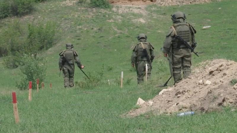 Արցախում առայսօր ականազերծվել է 2051 հա տարածք և 625 կմ ճանապարհ. ռուս սակրավորները շարունակում են աշխատանքը
