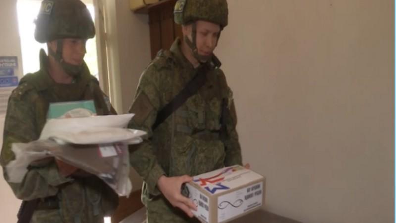Ռուս խաղաղապահները Լեռնային Ղարաբաղի հեռավոր բնակավայրերի բժիշկներին փոխանցել են առաջին բուժօգնության պարագաներ