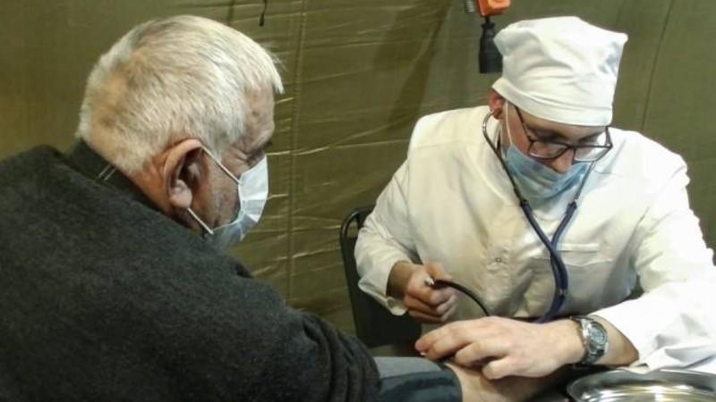 Ռուս ռազմական բուժաշխատողներն օգնություն են ցուցաբերել 1238 բնակչի, այդ թվում՝ 157 երեխայի. ՌԴ ՊՆ
