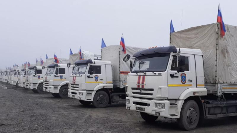 ՌԴ-ից մարդասիրական օգնության ևս 7 վագոն է տեղափոխվել ԼՂ․ ՌԴ ԱԻՆ