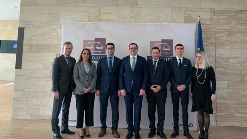Ռուստամ Բադասյանը Եվրաջասթի նախագահին ներկայացրել է արդարադատության ոլորտում վերջին զարգացումները և բարեփոխումները