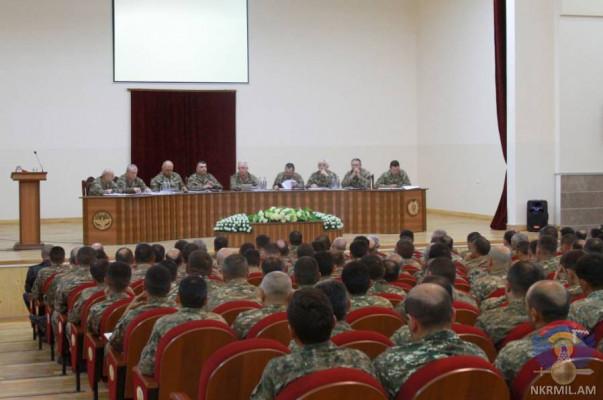 Արցախում ռազմական խորհրդի նիստին մի շարք օրակարգային հարցեր են քննարկվել