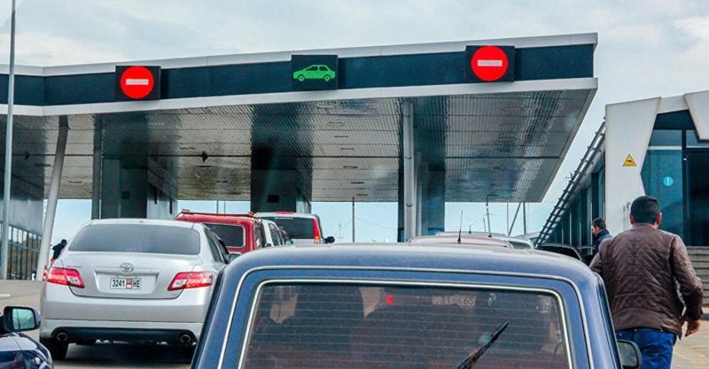 Գոգավան-Գուգութի սահմանային անցակետ տանող ավտոճանապարհը փակ է. պատճառը շրջված բեռնատարն է